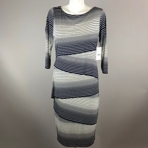 Bailey 44 Womens Ashlin Knit Midi Dress Size XL